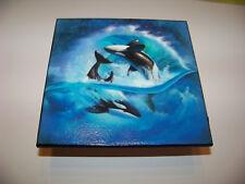 Deko Fliese maritim Killerwal Wal