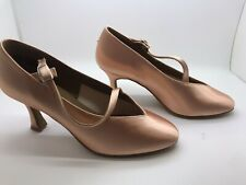 Chaussure de danse de salon pour femme Diamant couleur: tan