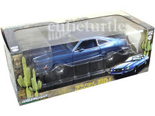 Greenlight 12868 1976 Ford Mustang II Mach 1 1:18 Diecast Model Car Blue
