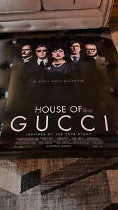 House Of Gucci Theatrical Small Wear 27x40 D/S NEAR MINT Never Used SEE PHOTOS