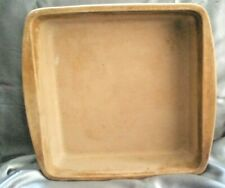 """New listing Pampered Chef Family Heritage 9"""" Square Baker Stoneware Pan"""