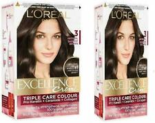 Excellence Cream 3 Nature Hair Colour (Dunkelsten Brown, 3.5oz, 2.4oz, 0.8oz,