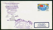 """MayfairStamps Russia 1988 """"Mypmahck"""" Ship Cover WWH55847"""