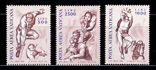 VATICANO 1976 A-60/62 FRESCOS DE MIGUEL ANGEL 3v.