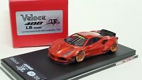 1:64 Veloce Ferrari 488 LB Performance Metallic Red ignition kyosho