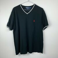 Polo Ralph Lauren Polo Style Tshirt Black And White size large