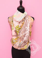 NEW HERMES 90 cm 36 INTO THE CANADIAN WILD PINK SILK TWILL SCARF SHAWL CARRE sb7