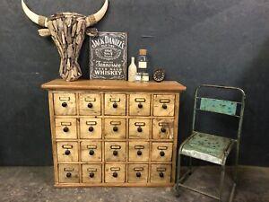 Fabulous  Vintage Apothecary Chest / Merchants Chest / Multi Drawer Unit