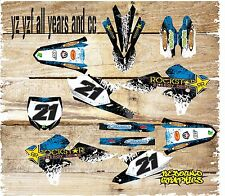 YAMAHA YZ YZF 85 125 250 450 FULL GRAPHICS KIT- MX - DECALS - STICKERS ALL YEARS