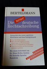Duden neue deutsche Rechtschreibung von Bertelsmann,