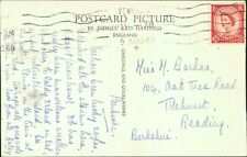 Margaret Mary Barkas. 104 Oak Tree Road, Tilehurst, Reading   1960  QX.1585