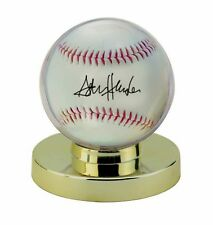 ^1 BCW Pro Gold Base Ball Baseball Holder Display Case New