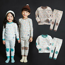 "NWT Vaenait Baby Toddler Kids Girls Boys Clothes Pajama Set ""Patch bird"" 12M-7T"