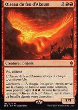 MTG Magic - La Bataille de Zendikar  - Oiseau de feu d'Akoum  - Mythique VF
