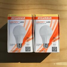 Sylvania Lightify Smart Connected Dimmable Light Bulb Soft White Lot of 2 - New