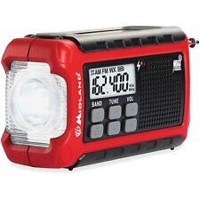 Midland ER210 E+Ready Compact Emergency-crank Weather Radio- FREE Shipping
