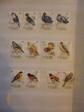 Timbres d'Australie et d'Océanie, sur oiseaux