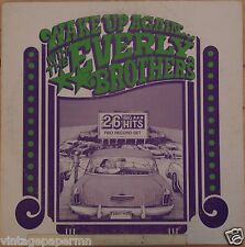 Everly Brothers Wake Up Again W/ The Everly Brothers 1974 Vinyl LP GRT Records