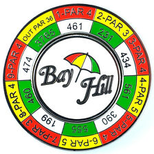 BAY HILL Logo YARDAGE COIN with REMOVABLE GOLF BALL MARKER