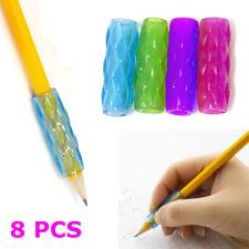 8 PCS Pencil Grips Pen Comfort Holder Soft Sponge Handwriting School Supplies
