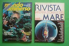 Magazine MONDO SOMMERSO N.221 1978 + supplemento Rivista internazionale del mare