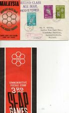 1965 Malaysia Sg 28/30 SEAP Games First Day Cover with Original Insert