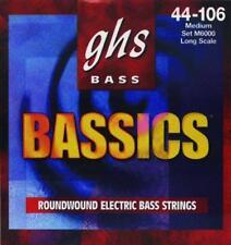 GHS Medium Bassics Electric Bass Guitar Strings M6000