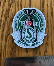 Saskatchewan Roughriders Grey CUP 1966 Champions WOVEN Patch