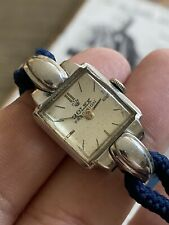 VINTAGE ROLEX PRECISION COCKTAIL CORD Watch 4211 /482386 17J swiss Made 17mm !!