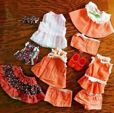 Vintage Ideal Cinnamon Doll Shoes and Dress
