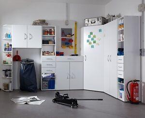 "GENIUS ""Any Room"" Versatile Shelving Storage Cupboard Wardrobe Solution. White."