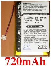 Battery 720mAh type KPPJFGB6 For iRiver Clix