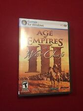 Age of Empires III The War Chiefs PC Video Computer Game Rated T 2006