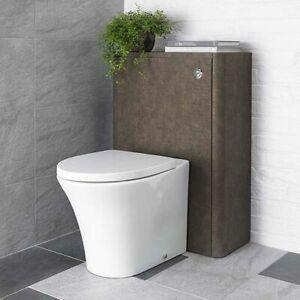 Linen 600mm WC Toilet Unit - Rust (Bathstore)   RRP: £279