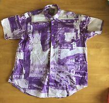 Vintage Esprit Shirt San Francisco Scenes Purple M Or L Golden Gate Bridge