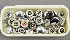 30 x Aufzugskrone Krone Ersatzteil f Armbanduhr Uhr Uhrmacher watch watchmaker