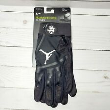Nike Jordan Huarache Elite Baseball Batting Gloves White Size XXL PGB663-010