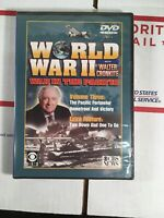 World War II w Walter Cronkite War In The Pacific New Sealed DVD 2003 CBS News