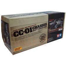 Tamiya 1:10 CC01 Landfreeder Matte Black Painted Body Car Kit ESC Motor #47361