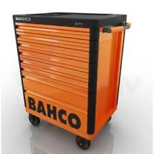 Bahco 1477K8 E77 'Premium' 8 Drawer Mobile Roller Cabinet Orange