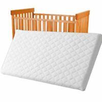 Cot Mattress Foam Cot Bed Mattress Baby Junior Toddler,Quilted, 140cmx70cmx7.5cm
