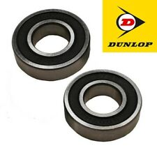 PAIR OF QUALITY STEEL DUNLOP 608 2RS BEARINGS FOR WHEELCHAIR WHEELS & CASTORS