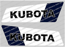 KUBOTA MINI DIGGER BOOM DECALS
