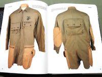 """PARAMARINE!"" USMC MARINE US WW2 AIRBORNE JUMP SMOCK KNIFE PATCH REFERENCE BOOK"