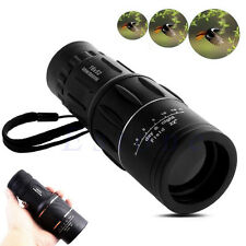 Day & Night 16x52 Vision HD Optical Monocular Hunting Camping Hiking Telescope