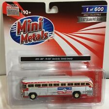 Classic Metal Works 32315 HO GMC PD-4103 Intercity Bus Kennedy Campaign 1:87