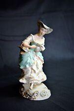 "Vintage Wedgwood figurine ""Bergère"". Licorne Stempel."