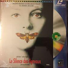 NEUF - SILENCE DES AGNEAUX (LE) - WS VF PAL LASERDISC Jodie Foster