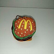 2004 McDonalds Plush Big Mac Promo Item
