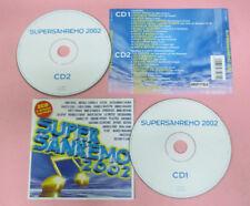 CD Compilation SUPER SANREMO 2002 ANASTACIA ALEXIA SAFINA MORANDI no lp mc (C42)